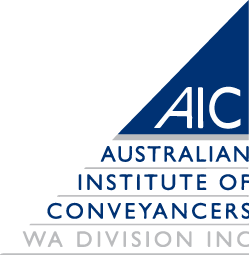 AICWA Registered Settlement Conveyancing Agent Joondalup